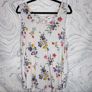 Old Navy Floral Luxe Tank 2XL